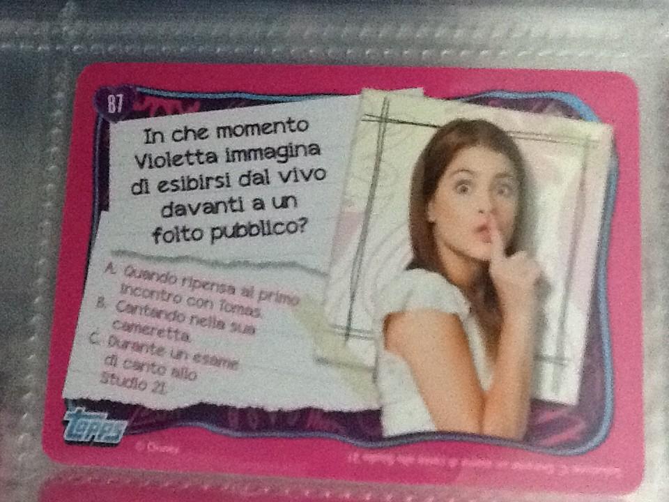 Le activity card collection di Violetta in Edicola, scopri!